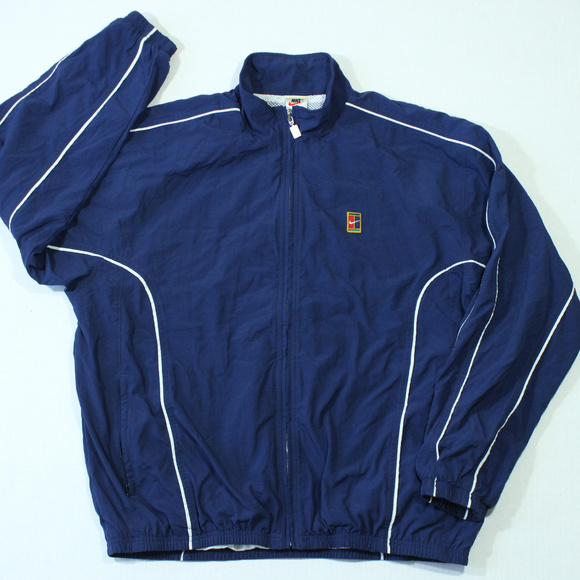 066d6ed5 Nike Jackets & Coats | Vintage Tennis Court Windbreaker Jacket 90s ...